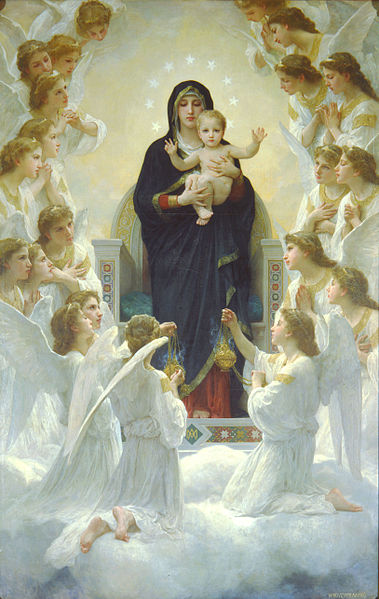 MAY - The Virgin with Angels