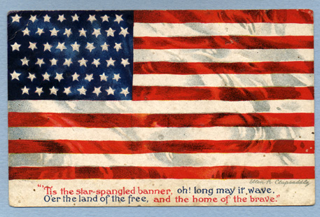 American_Flag_USA_Vintage_Patriotic_Postcard_1