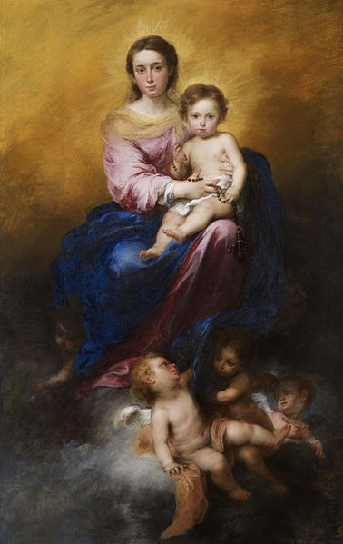 OCTOBER - The Madonna of the Rosary