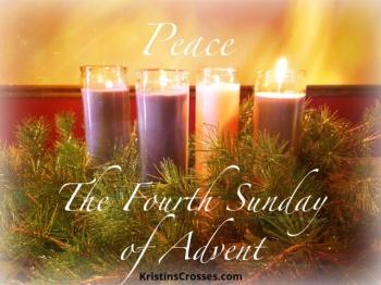 Fourth Sunday of Advent - KristinsCrosses.com