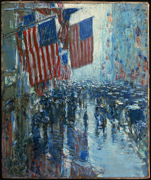 Famous Paintings Of The American Flag